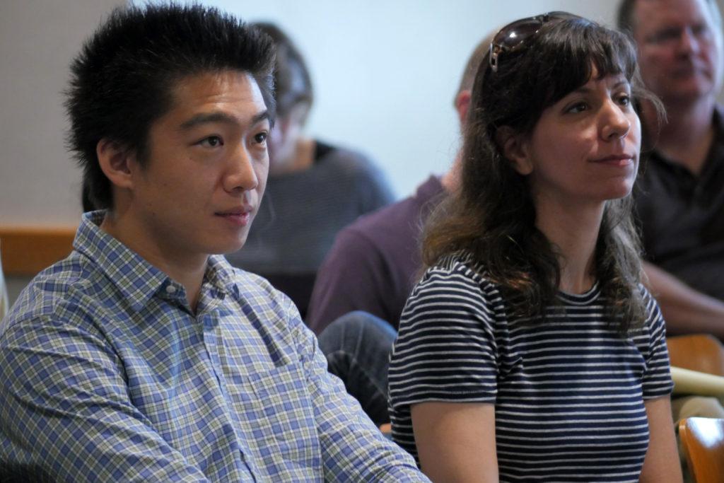 Eden Lin and Molly Gardner